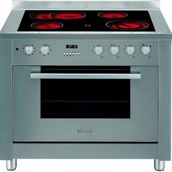 """תנור אפייה משולב גז קרמיות 90 ס""""מ פירוליטי שולטס SCHOLTES CP965RS"""