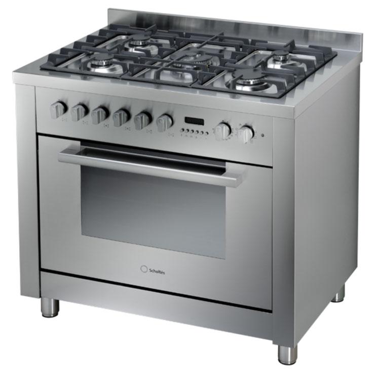 תנור אפייה משולב כיריים גז 67 ליטר 90 סמ קטליטי שולטס SCHOLTES CP956G