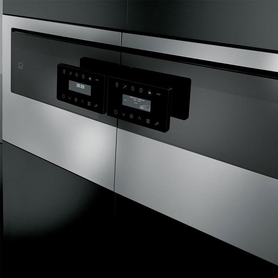תנור בנוי דלת צד 58 ליטר פירוליטי מסדרת Attitude שולטס SCHOLTES FLR934XA