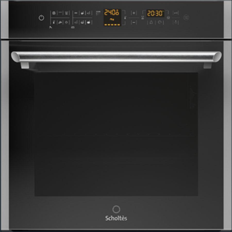 תנור שולטס ממוחשב תא גדול הפעלה במגעות מסדרת black daimond